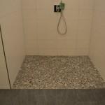Kieselsteine Bodengleiche Dusche